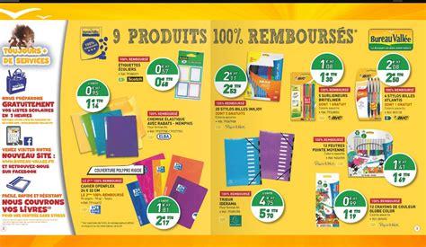 catalogue bureau fournitures scolaires gratuites chez bureau vall 233 e car 100