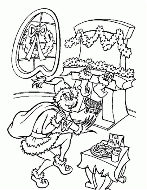 grinch movie coloring pages grinch stole christmas coloring pages coloring home