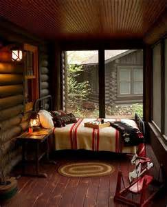 cabin bedroom decorating ideas cozy sleeping porches for a perfectly relaxing summer