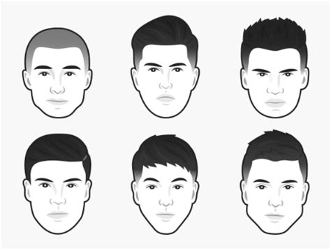 hair style by head shape hairstyle the best men s haircut for every face shape the independent