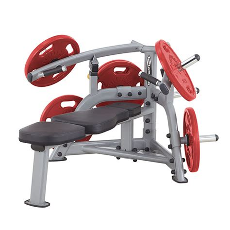 lever bench press steelflex plbp100 leverage bench press machine