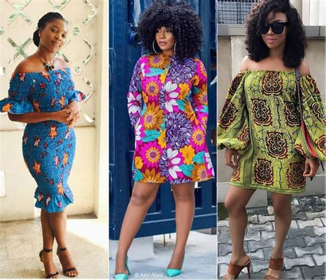 short gowns ankara for fat ladies 17 amazing ankara short dress styles for women