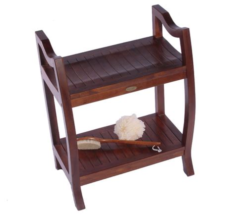 extended bath bench contemporary teak 24 in extended height spa contemporary shower benches seats