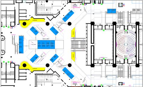 floor plan service exhibitor listing and floor plan