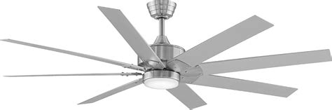 fanimation levon 63 inch brushed nickel ceiling fan fanimation fans levon brushed nickel best free home