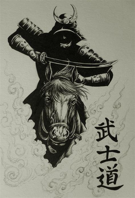 Kaos Duc pin de duc en samurai tatuajes samurai