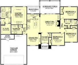 floor plan for 2000 sq ft house european style house plan 4 beds 2 baths 2000 sq ft plan 430 74