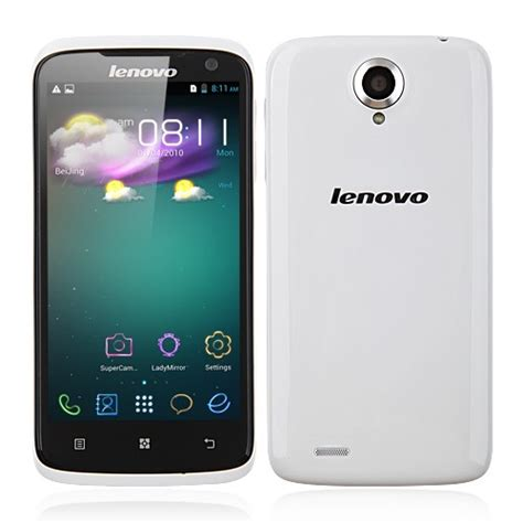 Lenovo S820 Lenovo S820 Dual Sim Is An Android Smartphone Which Runs On The Android 4 2 It Comes