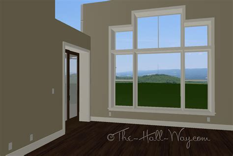 the bedroom window windows doors floors the hall way