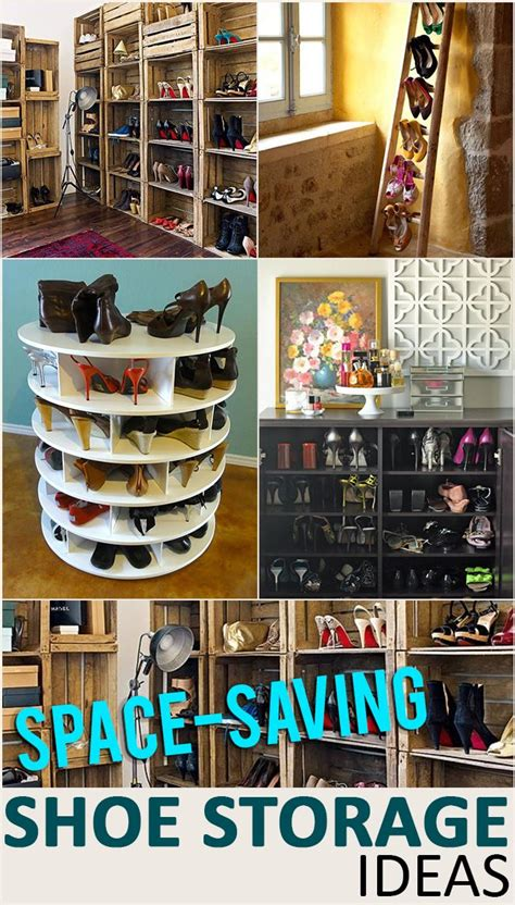 do it yourself shoe storage space saving shoe storage and organization ideas do it