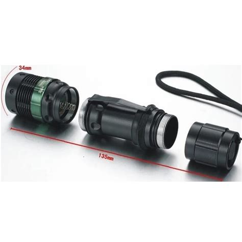 Senter Led Mini Xpe 320 Lumens W 36 Hitam 5 senter led mini xpe 320 lumens w 36 black