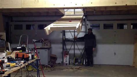 Garage Pull Stairs by Pull Ladder In Garage Decor23