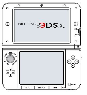 Nintendo 3ds Xl Special Edition Template By Couyzexal On Deviantart 3ds Xl Skin Template