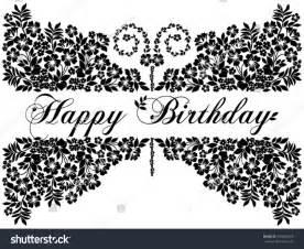Black And White Birthday Card Designs