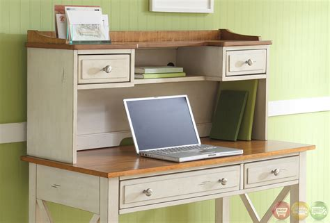 Coastal Cottage Style Writing Desk Isle Coastal Cottage Style Transitional Home Office Desk