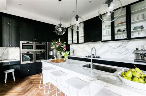 black kitchens 20 black kitchens that will change your mind about using