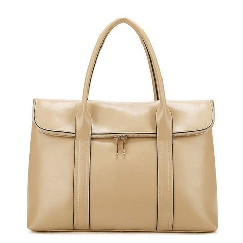 Bag Fashion fashion leather handbag apricot