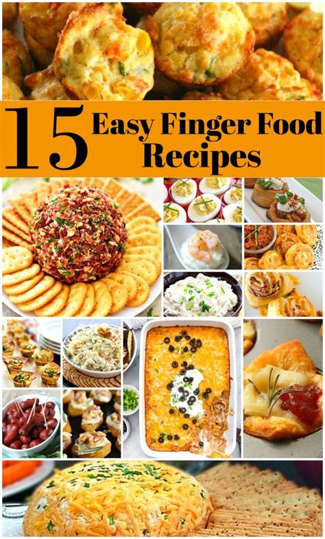 finger foods for christmas gatherings 15 easy to make finger foods melissassouthernstylekitchen