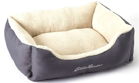 eddie bauer dog bed eddie bauer pet bolster bed groupon goods