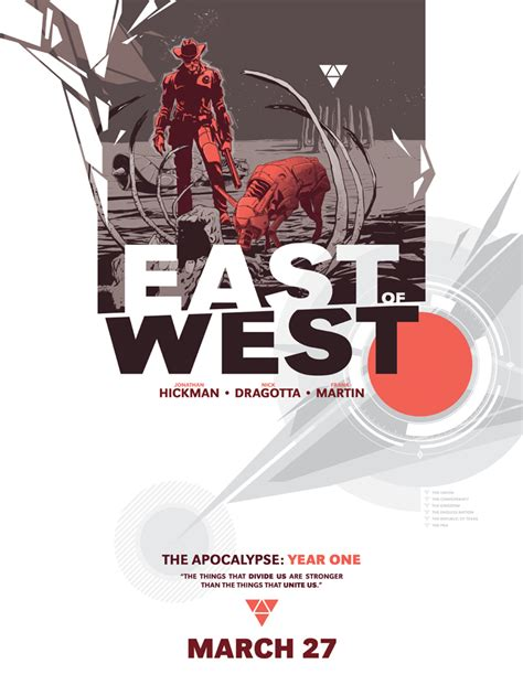 east of west the hickman ends the world with east of west bloody disgusting