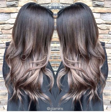 color effect cool tones and brunettes on