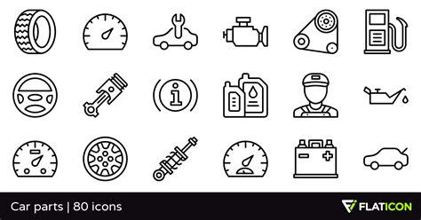 Home Design Unlimited Car Parts 80 Free Icons Svg Eps Psd Png Files