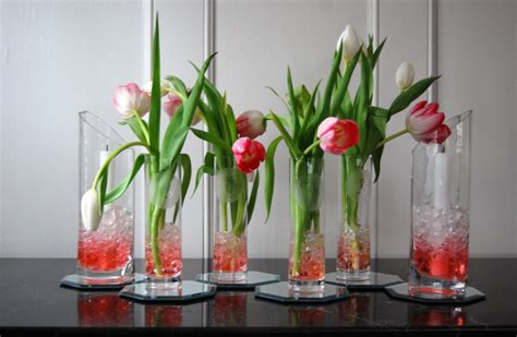 Decorating Ideas For Vases by Challenge Etched Vase Tablescape
