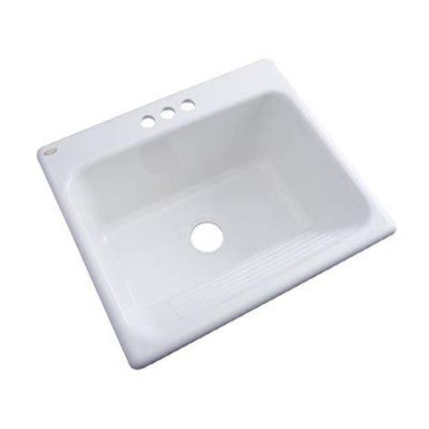 Dekor Laundry Sink by Dekor Composite White Self Composite
