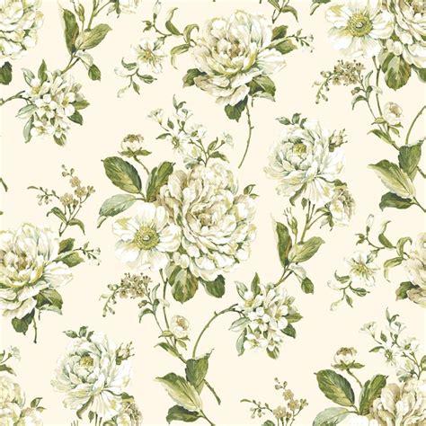 wallpaper green and cream bethany floral cream green wallpaper departments diy