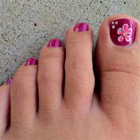 Simple Toenail by Simple Toenail Designs For Summer