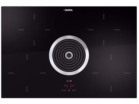 bora glass ceramic induction cooktop induction glass ceramic cooktop with cooktop extractor bia by bora design willi bruckbauer