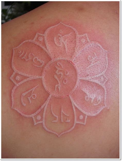 tattoos with white ink 41 enticing lotus flower tattoos