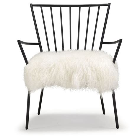 White Fur Chair by Outstanding White Fur Chair For Your Home Decor Ideas With