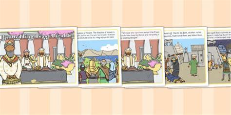 Wedding Feast Bible The Wedding Feast Parable Parable Wedding Feast Religion