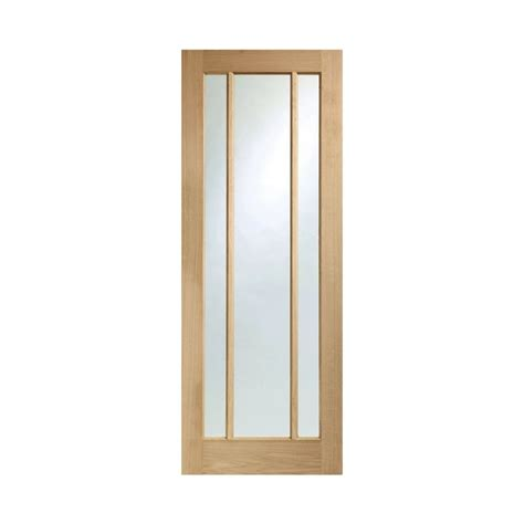 Internal Oak Door Worcester Interior Clear Glass Interior Oak Doors With Glass