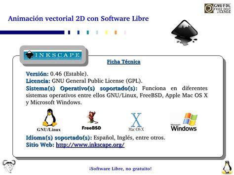 imagenes vectoriales copyleft animaci 243 n vectorial 2d con software libre
