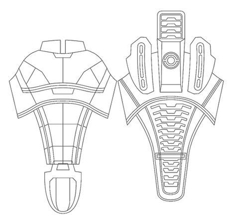 Volpin Props N7 Armor Dragon Con 2010 Recap Foam Armour Templates