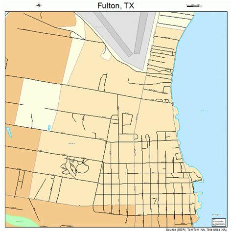 Futon Tx fulton map 4827888
