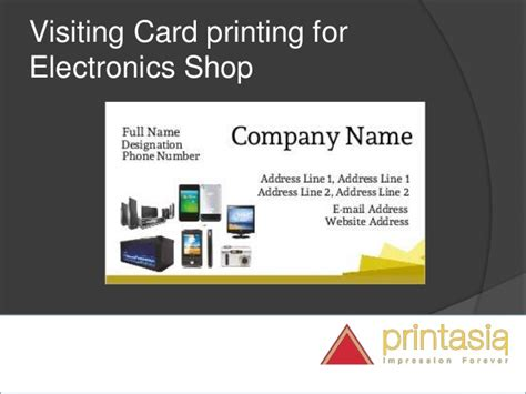 Gift Card For Online Shopping - business cards online printing