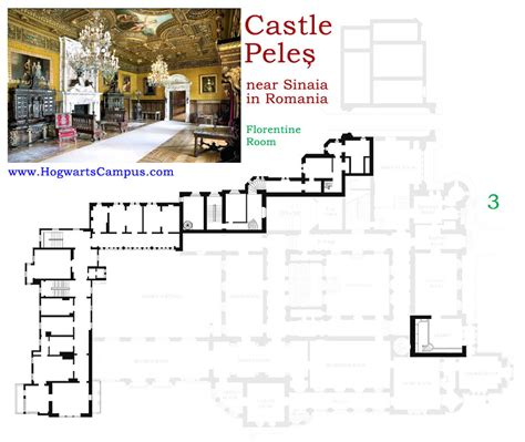 hogwarts castle floor plan peles castle floor plan 3rd floor