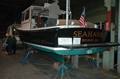 maine fishing boat builders maine boat builders show the hull truth boating and
