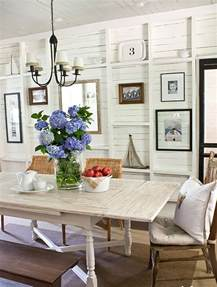 photos of coastal inspired dining rooms home christmas