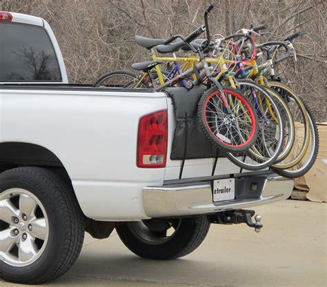 bike rack for truck tailgate softride shuttle pad tailgate bike carrier for full size