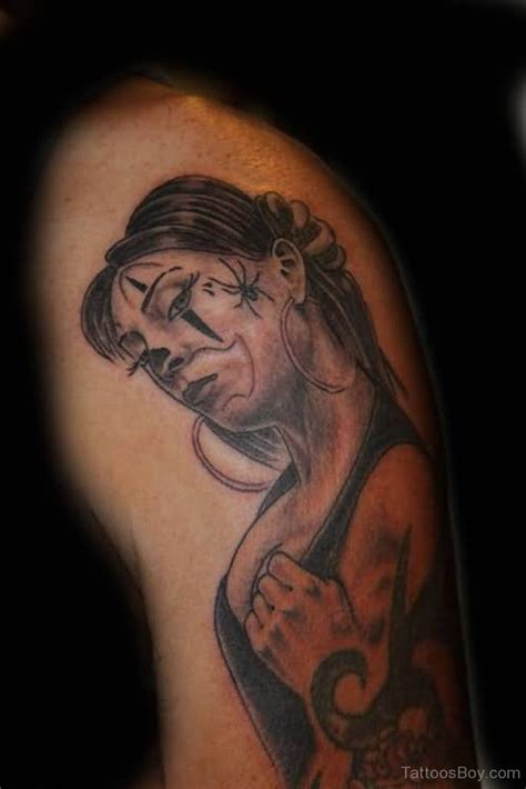 latino clown tattoo latino tattoos tattoo designs tattoo pictures