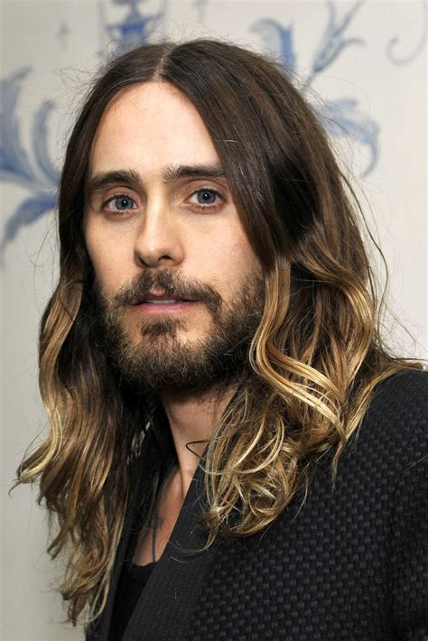jesus hair styles q a jared leto s hairstylists on his ombr 233 hair the cut