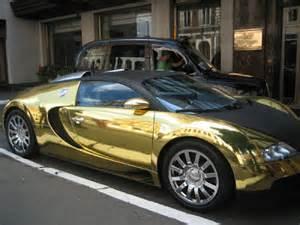 Gold Plated Bugatti Veyron Bugatti Gold Cool Car Wallpapers
