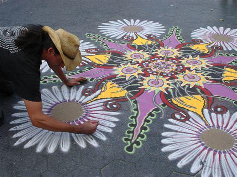Sand Painting intricate sand paintings by joe mangrum