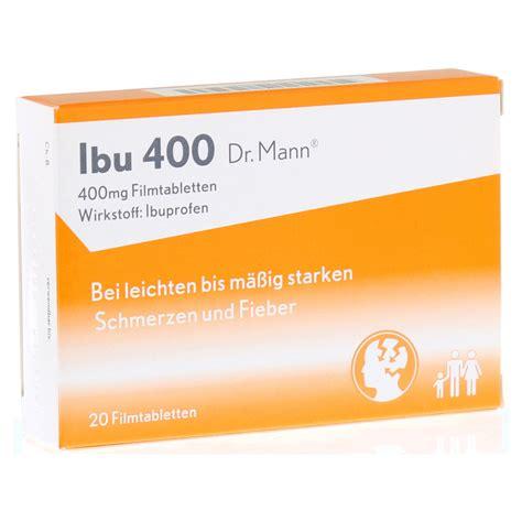 Wann Wirkt Ibuprofen 400