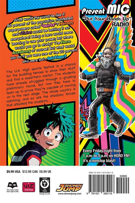 my hero academia 4 my hero academia manga volume 4