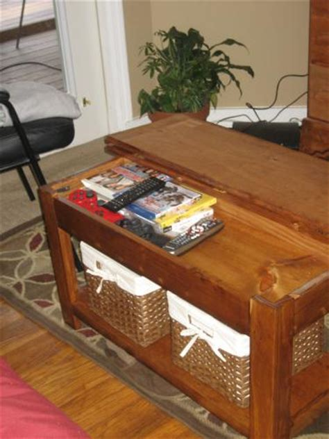 Storage Bench Coffee Table White Storage Bench Coffee Table Diy Projects